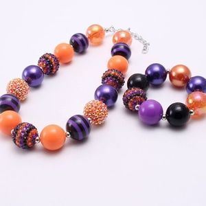 Jewelry - Halloween Toddler Chunky Necklace and Bracelet
